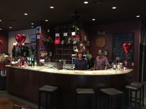 Bar with Wineglasses