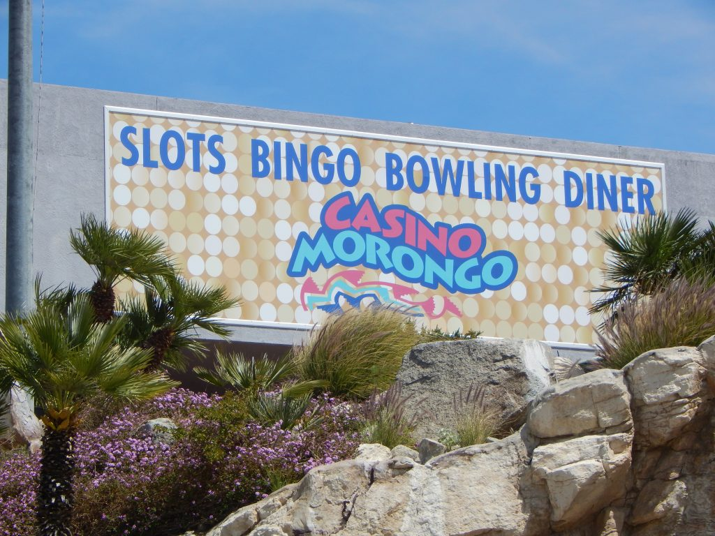 Casino Morongo sign