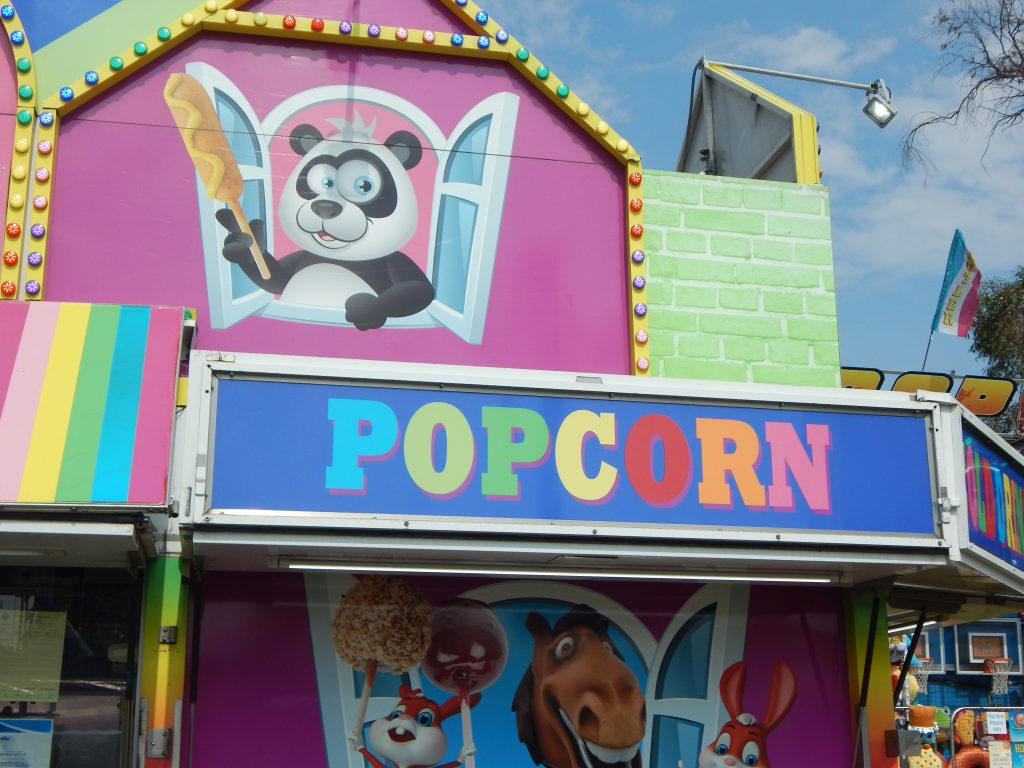 Cherry Festival Popcorn Booth