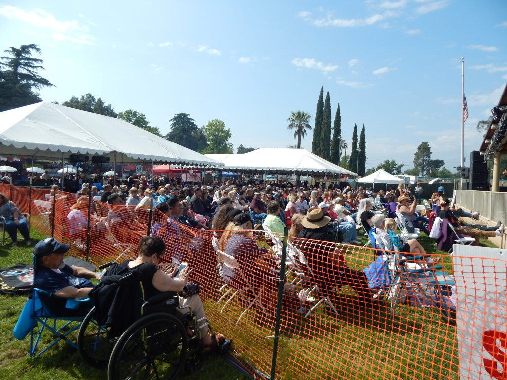 Cherry Festival Seating