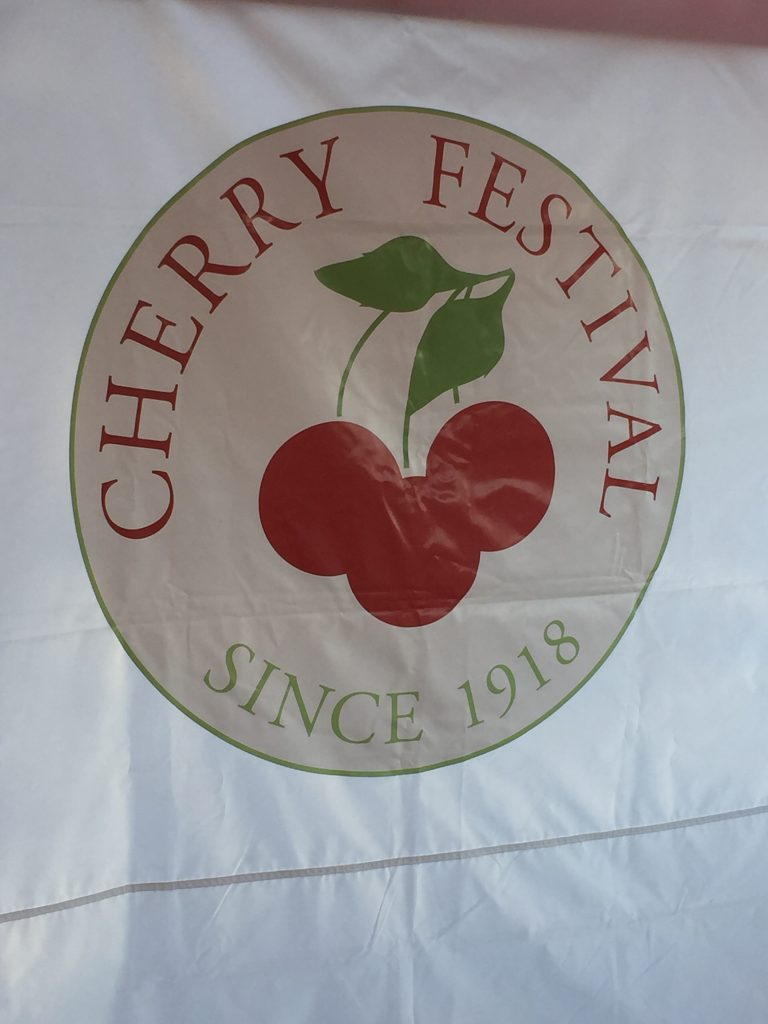 Cherry Festival Logo