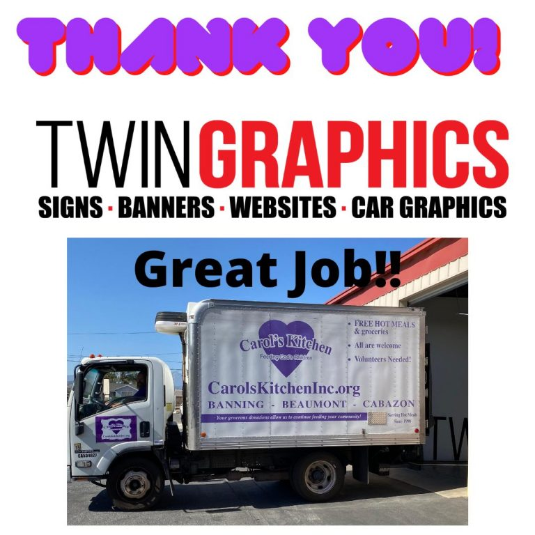 Thank You Twin Graphics